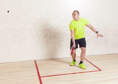 Squash Backhand
