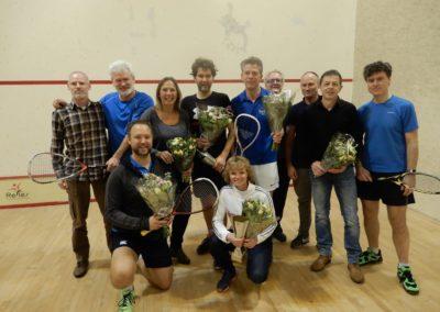 Clubkampioenschappen 2019 Squashclub Reflex Castricum